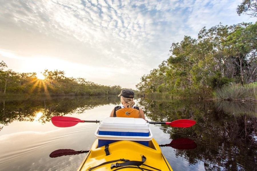 kayak-noosa-everglades-adventure-holidays
